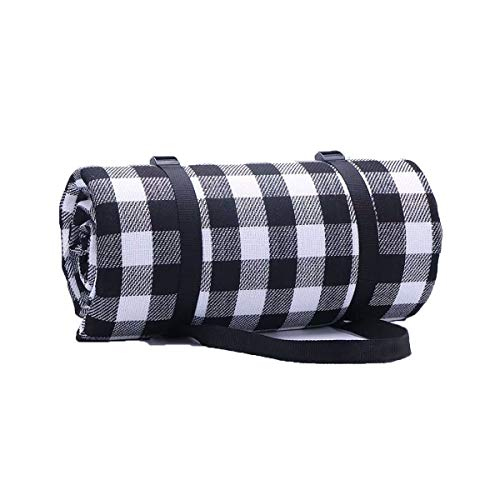 Manta de picnic impermeable al aire libre estera plegable manta de cuadros para acampar senderismo,césped picnics,playas
