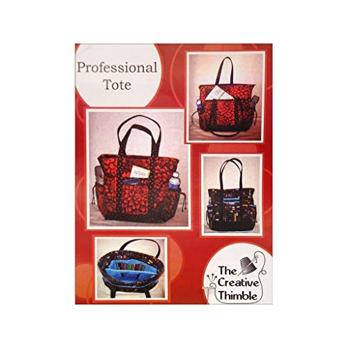 Creative Thimble, The TCT105 Tote Pattern, Multicolored