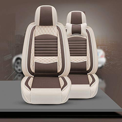 Review Of GXDHOME Car Seat Universal Linen Seat Cover Car Seat Cover All-Inclusive Special Seat Cove...