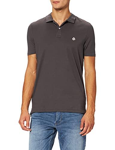 Springfield Polo Urban COTTONPOLY Camiseta, Gris Oscuro, L para Hombre