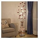 DEZHAO Lámpara de pie para sala de estar del dormitorio - G4 * 7 Alambre...