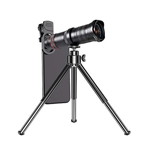 Telescopio Monocular 15-45X42mm con Enfoque Dual Zoom Óptico Impermeable Visión Partido Fútbol Pájaros Turismo Caza Senderismo Conciertos Viaje Navegación a Prueba de Nieble Día y Noche