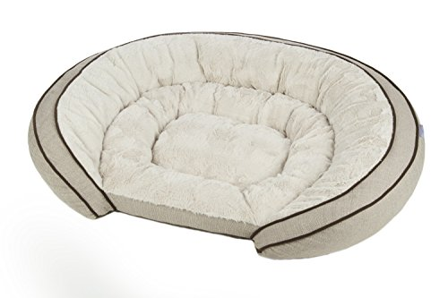 Sterling Premium Cooling Gel Memory Foam Pet Bed, Plush with...