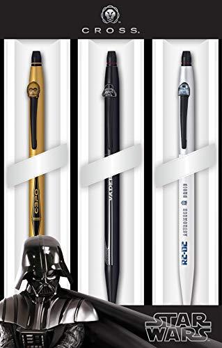 A. T. Cross Schreibgeräteset Rollerball Cross 3er Multipack Click Star Wars