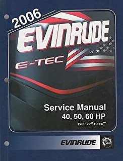 2006 EVINRUDE E-TEC OUTBOARD 40, 50, 60 HP SERVICE MANUAL P/N 5006570 (172)