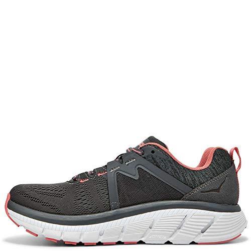 HOKA ONE ONE Women's Gaviota 2 Running Shoes, Dark Shadow Lantana, 6 Wide US