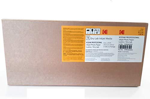 Kodak KPRO665LDL Fotopapier für Tintenstrahldrucker, 255 g, 2 Stück