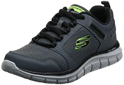 Skechers Sport Mens Track KNOCKHILL Sneakers Men Grau, Schuhgröße:43 EU