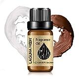 Lagunamoon Olio profumato, Olio Essenziale per Umidificatore, Olio Fragrante per Aromaterapia 10 ml - Cioccolato al latte