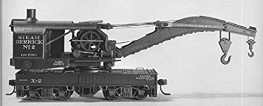 120-Ton Brownhoist Railroad Wrecking Crane - Kit -- Undecorated