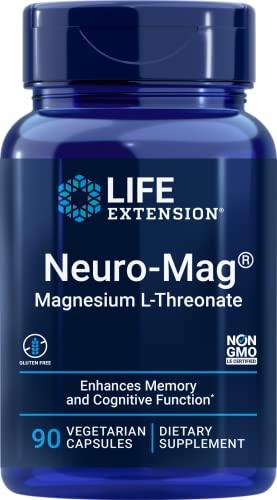 Life Extension Neuro-Mag Magnesium L-Threonate, 90 Vegetarian Capsules...