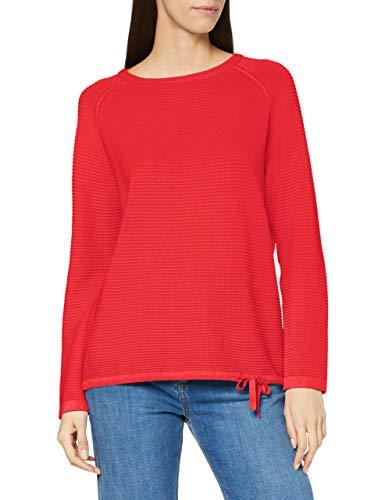 Cecil Damen 301439 Pullover, Hibiscus red, L
