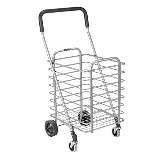 Polder STO-3022-92 Superlight Shopping Cart Aluminum