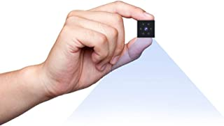 Camaras Espias Ocultas, Mini Camaras Espias 1080P HD Cámara Vigilancia Portátil Secreta Compacta con Detector de Movimient...