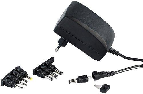 reVolt Schaltnetzteil 12V: 230V-Universal-Schaltnetzteil 2.250 mA, umschaltbar 3-12 V (Universal Netzteil 12V)
