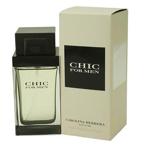 Carolina Herrera Chic For Men Eau de Toilette, 100 ml