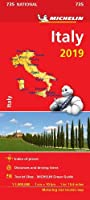 Italy 2019 - Michelin National Map 735 (Michelin National Maps)