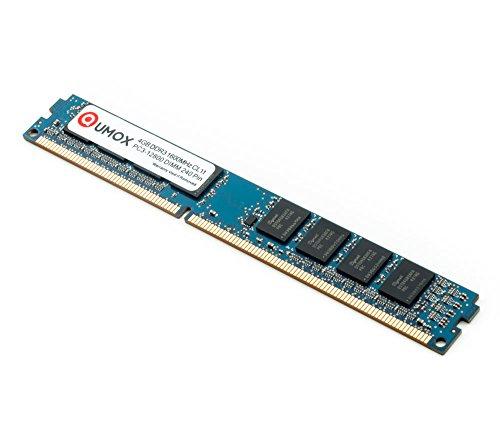 QUMOX 4GB Memoria DIMM DDR3 1600MHz PC3-12800 DDR3 1600 (240