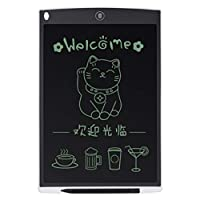 12 Inch LCD Digital Writing Tablet Drawing Board Sketchpad Electronic Graphic Board with Mouse Pad & Ruler