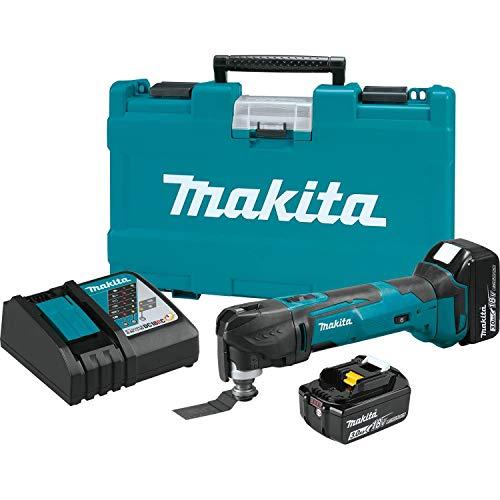 Makita XMT035 18V LXT Lithium-Ion Cordless Multi-Tool Kit (3.0Ah)