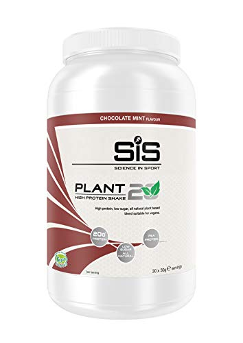 Science in Sport SiS Plant20 Vegan Protein, Chocolate Mint, 900 g