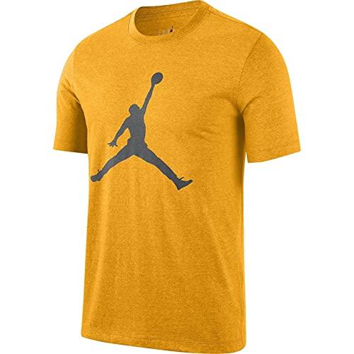 Nike Jordan Jumpman Logo University Gold/Iron Grey - Camiseta University Gold/Iron Grey S