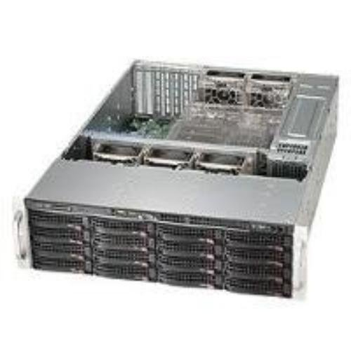 Supermicro 836BE1C-R1K03B - Computer-Gehäuse (Rack, Server, EATX, Black, 3U, Home/Office)