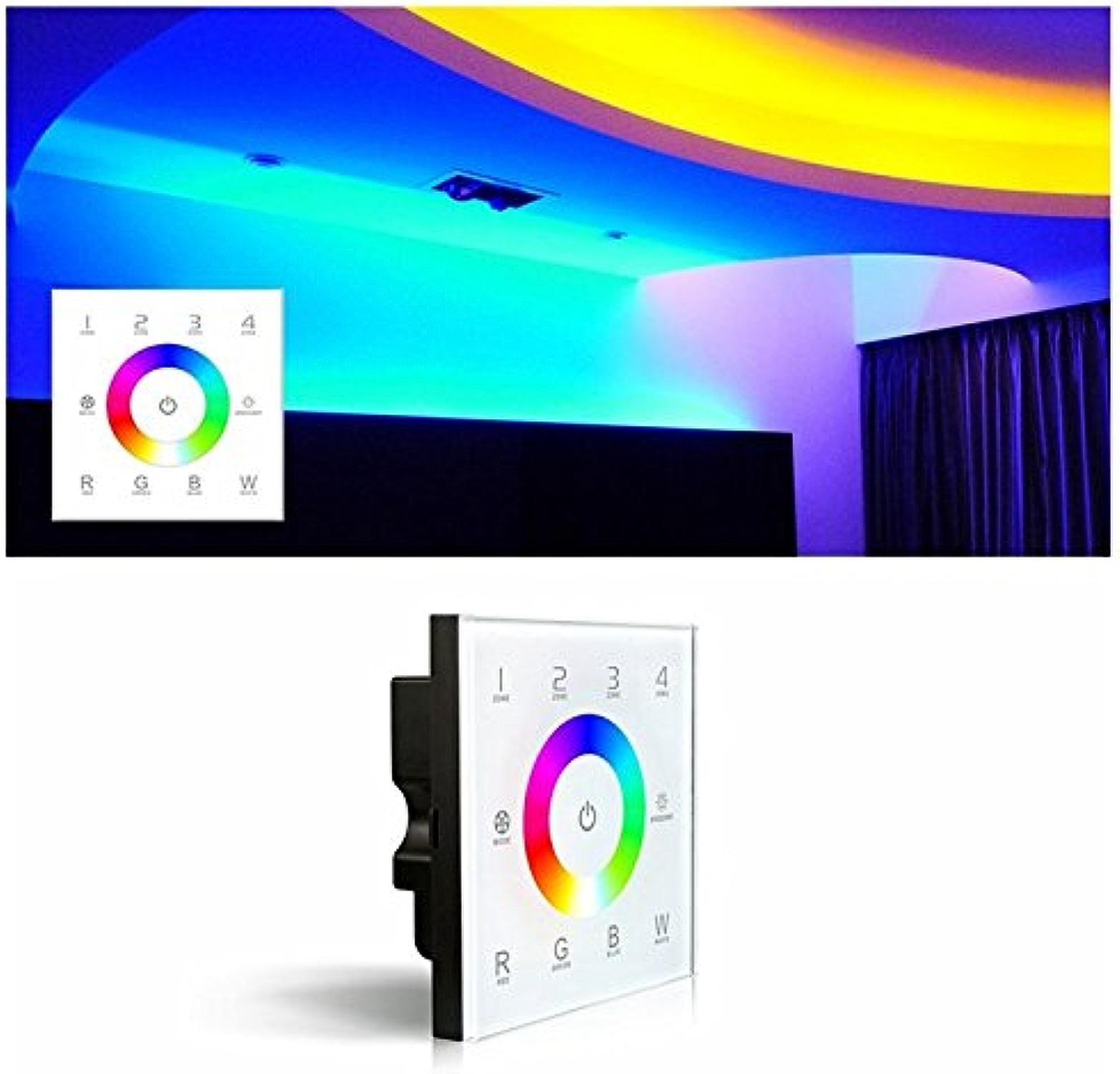 Bazaar LED Panneau tactile de comhommede gradateur DMX512 4 canaux RGBW D8 DC12-24V