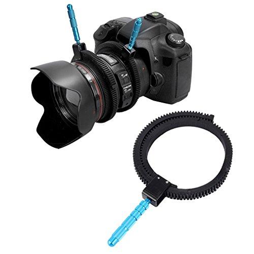 Yinew Kamera-Zahnriemen – Gummi Follow Focus Ring Gear Belt für SLR-Kameras Digital DSLR Camcorder Kamera