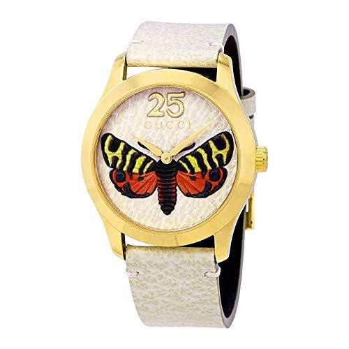 Reloj Gucci YA1264062 Beige Acero 316 L Mujer