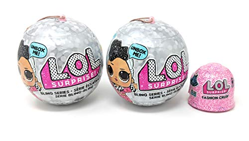 L.O.L. Surprise! Bling Series (2 Pack) + Bonus (1) Fashion Crush