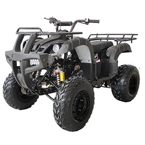 X-PRO ATV Quad 4 Wheelers Utility ATV Full Size ATV Quad Adult ATVs Big Youth ATVs for Sale(Black)