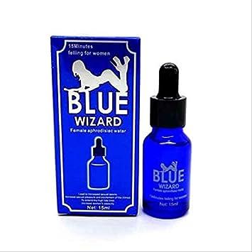 Amazon.com: Blue Wizard Women Sex Drops Spanish Fly Liquid Enhancer - 15ml  : Health & Household