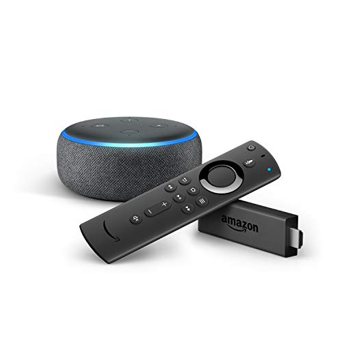 Fire TV Stick con telecomando vocale Alexa + Echo Dot (3ª generazione),...