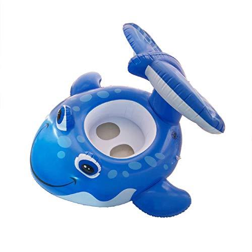SENFEISM Seguridad Dibujos animados anillo inflable anillo flotante cama accesorios niños inflable colchón deportes acuáticos