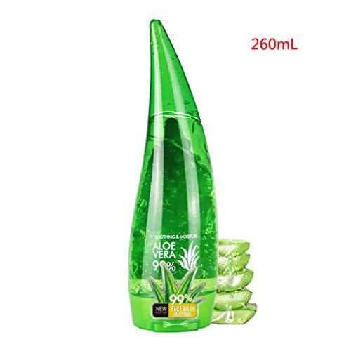 Huyiko Orgánica Gel de Aloe Vera Gel de Aloe Vera Loción Hidratante Crema para el rostro perfecto