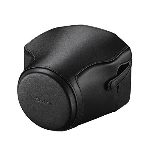 Sony LCJ-RXE hochwertige Polyurethan Kameratasche mit Schlaufe und Abdeckung für DSC-RX10 Cybershot