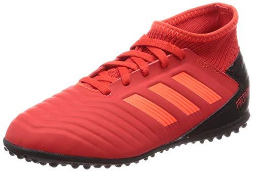 adidas Predator 19.3 Tf J, Scarpe da Calcio Unisex-Adulto, Multicolore (Rojact/Rojsol/Negbás 000), 38 2/3 EU