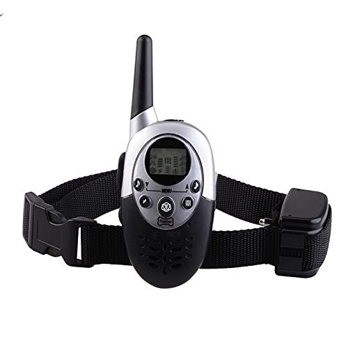 ZDXY 1100 Yards Remote Hundeausbildung Schockkragen Für Hunde Mit Piepton, Vibration Und Elektrischer Schlag, Wiederaufladbarer Und Wasserdichter E-Collar-Trainer