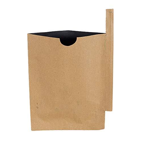 RNSUNH Bolsas de protección de frutas, 100 unidades de papel de pulpa para jardín, plantas, frutas, frutas y árboles con alambre para plantas, frutas, flores y verduras