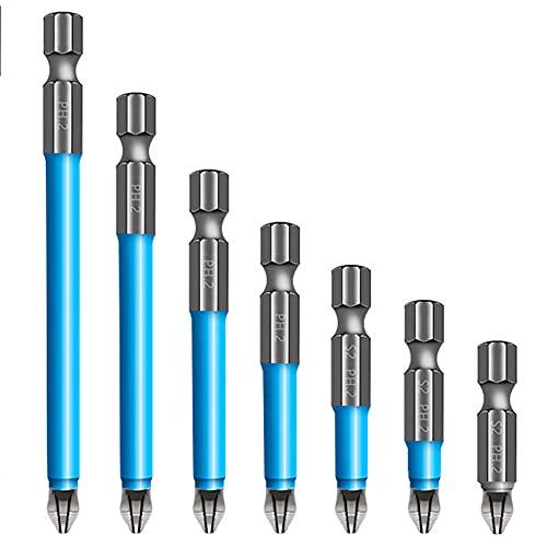 generic Screwdriver Bit Set Magnetic Bit Holder Set Magnetic Anti-Slip Drill Bit Power Tool Set for 25mm 50mm 65mm 70mm 90mm 125mm 150mm