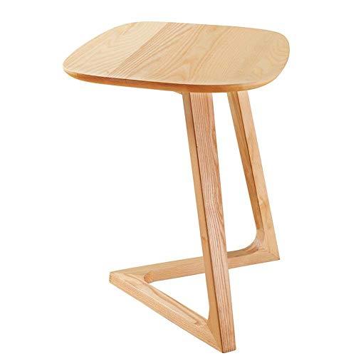 Home Beistelltische Nordic Massivholz Kreative Nachttisch Möbel Japanischen Stil Einfache Esche Holztisch Kleine Teetisch Computer Ecktisch, ZHZ, a