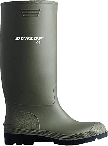 Dunlop Protective Footwear 380VP.45 Unisex adulto Botas de agua, Verde (Green Green), 45 EU