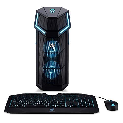 Acer Predator Orion 5000 PO5-610-UR11 Gaming Desktop,8th Gen Intel Core i5-8600K, GeForce GTX 1060, 16GB DDR4, 256GB PCIe NVMe SSD, Windows 10 Home, Black