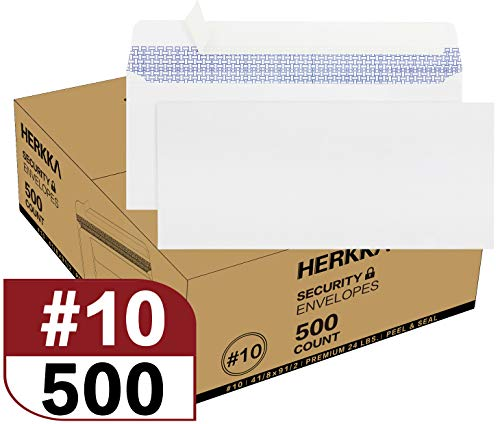 #10 Security Self-Seal Envelopes, No.10 Windowless Bussiness...