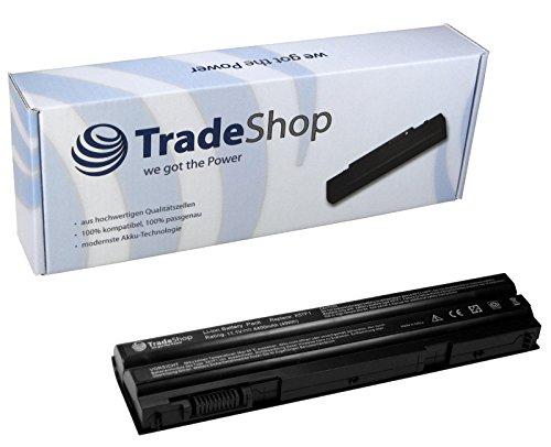 TradeShop Li-Ion Qualitäts Akku 10,8V/11,1V / 4400mAh für Dell Latitude E5420 E5420m E5430 E5520 E5520m E5530 E6420 E6420-ATG E6420-XFR E6430 E6430-ATG E6520 E6530 Dell Inspiron 15R SE 7520, 17R SE 7720 ersetzt 0DTG0V T54FJ PRRRF HCJWT M5Y0X NHXVW T54F3