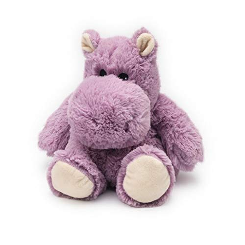 warmies Hippo Junior Cozy Plush Heatable Lavender Scented Stuffed Animal