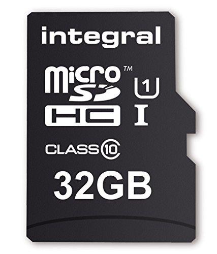 Integral INMSDH32G10-40U1 Micro SDHC Class 10 UHS-I