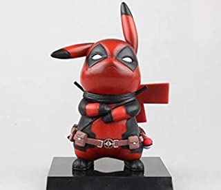 1PC NEW Pokemon Deadpool Cosplay PVC Action Figure Statues Model Toys Gifts