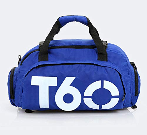 Pacchetto fitness su misura per l'allenamento sportivo da donna, la borsa da viaggio da uomo doppia schiena con la spalla con la tasca per scarpe da letto con una zaina da donna